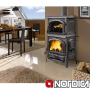 La Nordica Isotta Forno 11.5kw Wood Burner Cooker