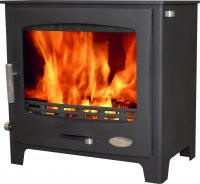 Woolly Mammoth 7 - 6.9kw Multifuel Stove - DEFRA Approved