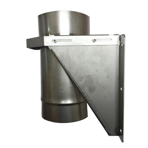 Base support multifuel stainless steel pipe mm