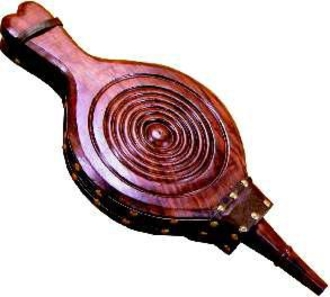 Carved Hardwood Bellows