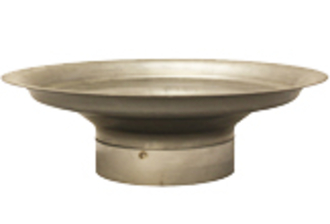 Spun Pot Liner Adapter-For 9 Inch Clay Concrete or Pumice Liner