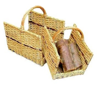 Open Ended Log Baskets