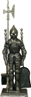 Silver Black Knight Companion Set