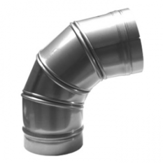 "6"" (150mm) 0-90 Degree Adjustable Elbow"