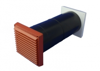 AirCore Ventilator Air Brick  - Terracotta