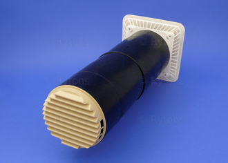 AirCore Ventilator High Rise Air Brick  - Buff/Sand