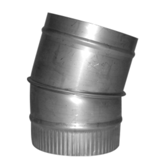 "15 Degree Stainless Steel Pipe Elbow 5"" (125mm)"