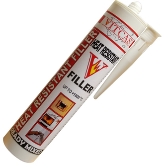 Heat Resistant Filler 1000 Degrees - WHITE