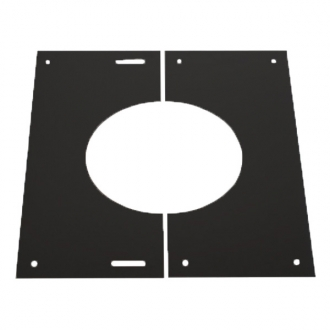 "7"" (175mm) 30-45 Degree Finishing Plate - Shieldmaster Black"