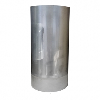 "250mm Multifuel Stainless Steel Pipe With Door 7"" (175mm)"
