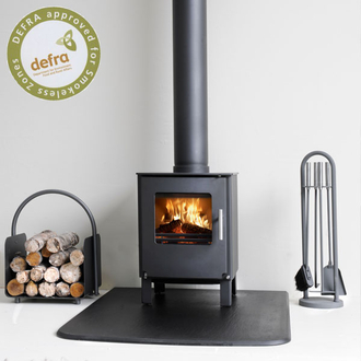 Westfire Series One Defra Approved Wood Burning Stove 4.9kw