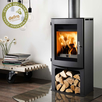 Westfire Uniq 18 5kw Defra Approved Wood Burning Stove