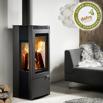 Westfire Uniq 33 6.1kw Side Glass Defra Convection Stove