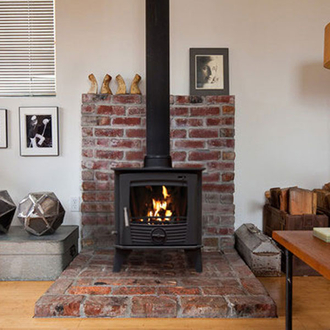 Henley Druid Defra Multifuel Wood Burning Stove 8kw