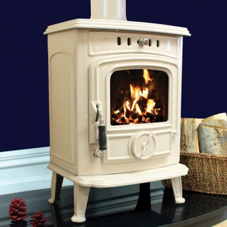 Henley Aran 5kw Multifuel Wood Burning Stove DEFRA