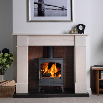 ACR Ashdale 7kw Cast Iron Defra Multifuel Stove
