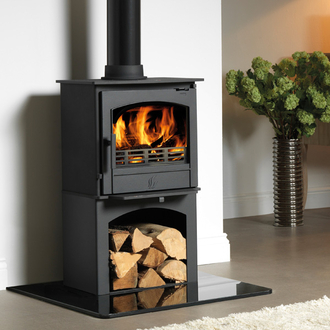 ACR Earlswood 5kw Multifuel Stove with Logstore