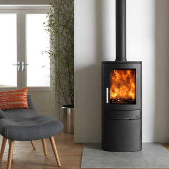 ACR Neo 1C Defra Approved Multifuel Wood Burning Stove 5kw