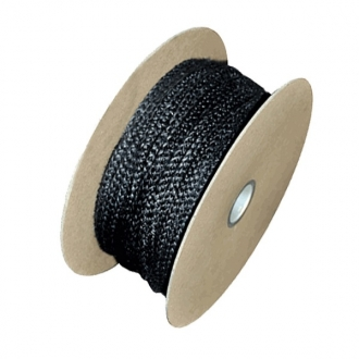 12mm Fire Rope Graphite (Full Drum 25m Length)