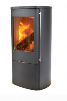 Jydepejsen Senza Steel 5kw Wood Burning Stove