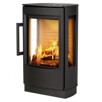 Wiking Miro 1 4.9kw Defra Approved Stove With Side Glass