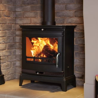 Flavel Rochester 7kw Multifuel Stove - Black Trim
