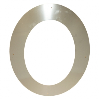 "6"" (150mm) 45° Wall Cover Ring"
