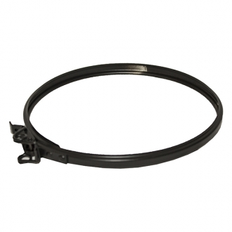 "5"" (125mm) Spare / Replacement Locking Band Sflue Black"