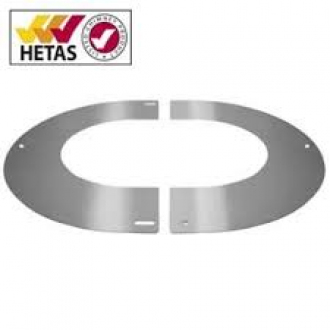"6"" (150mm) 45° Round Finishing Plate"