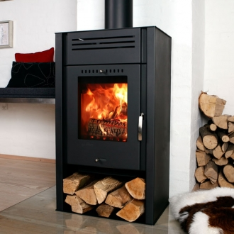 Aduro Asgard 1 - 5kw Defra Approved Wood Burning