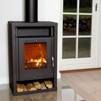 Aduro Asgard 2  - 5kw Defra Approved Wood Burning