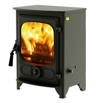 Charnwood Country 4 - 4.8kw Multifuel Wood Burning Stove