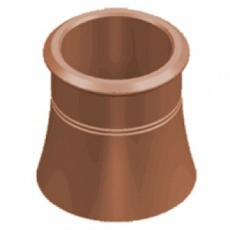 **COLLECTION ONLY**Cannon Head Chimney Pot For Solid Fuel-300mm