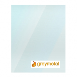 Greymetal Replacement Stove Glass - Various Models
