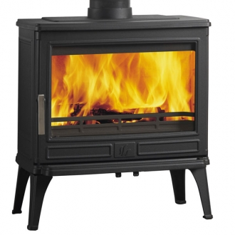 ACR Larchdale Cast Iron Defra Multifuel Wood Burning Stove 9kw