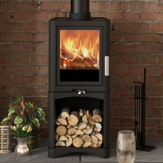 Evolution Deluxe 5kw Defra Multifuel Stove With Logstore