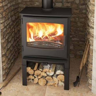 Evolution Ignite 7kw Defra Multifuel Stove With Log Store