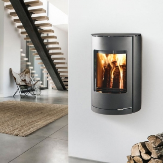 Westfire Uniq 36 7.2kw Wall Hung Defra Wood Burn Convection