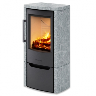 Wiking Miro 4 4.9kw Defra Wood Burning Stove - Soapstone Cover