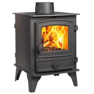 Hunter Hawk 4 - 6kw Double Sided Multifuel Stove