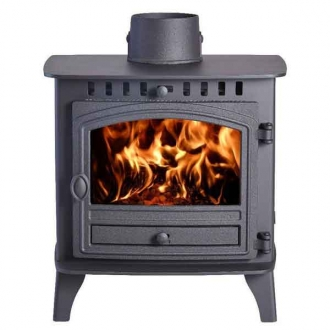 Hunter Herald 6 - 10.5kw Double Sided, Double Depth Multifuel Stove