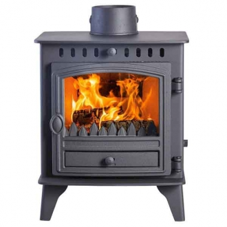 Hunter Herald 4 - 4kw Wood Burning Stove