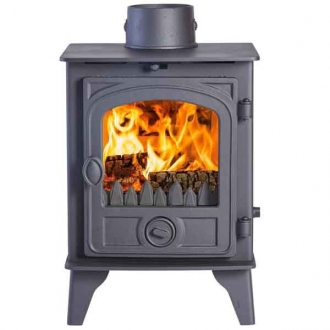 Hunter Hawk 4 - 10.6kw Wood Double Sided, Double Depth Stove