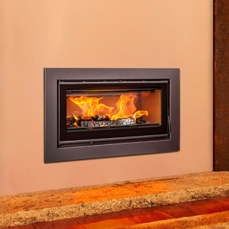 Opus Tempo 100 9kw Wood Burning Inset Stove