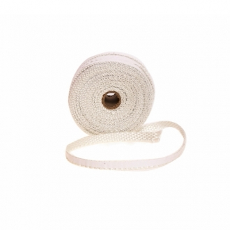 25mm Flat Self Adhesive Fire Rope (30m Drum)