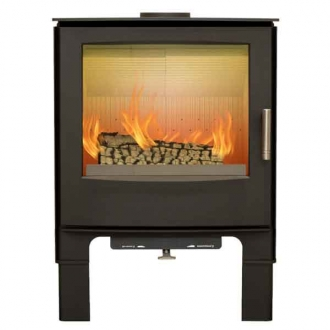 Mendip Woodland MK4 5kw Defra Convection Stove & Log Store