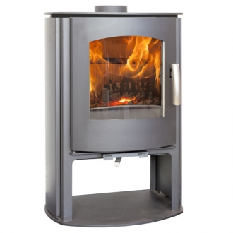 Mendip Churchill 5 - MK4 5kw Convection Stove With Log Store