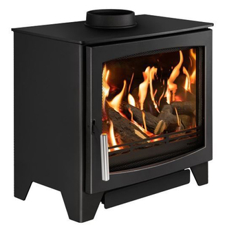 Hunter Aspect 7G - 4.4kw Natural Gas Stove - Log or Coal Effect