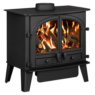 Hunter Consort 7G - 4.4kw LPG Gas Stove - Log or Coal Effect