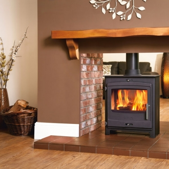 Portway 2 - 6.9kw Double Sided Multifuel Stove